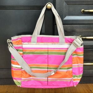 Lesportsac Diaper/Baby Tote Bag with Changing Pad